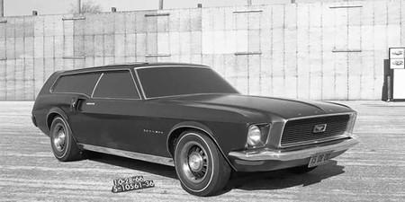 Ford Mustang Station Wagon, la curiosa historia de cuando la marca quiso crear una versión familiar de su deportivo