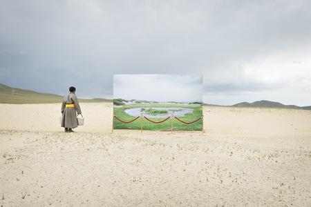 Fotografías que denuncian el verdadero estado de la Estepa de Mongolia