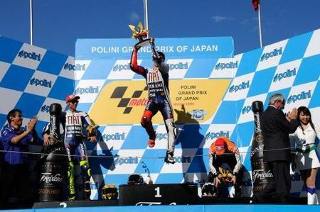 Jorge Lorenzo ganó su primera carrera del año en Motegi