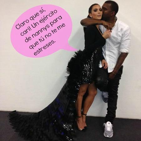 Decidido: dejo mi trabajo y me voy de nanny de Kim Kardashian