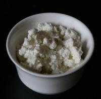 Requesón: muchas proteínas y pocas grasas