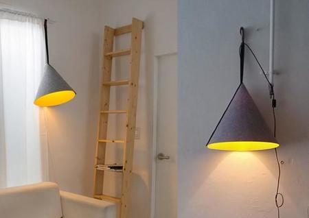 Una lámpara bien preparada para los cambios de estación