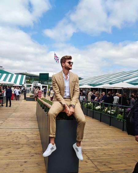 Jim Chapman nos muestra como vestir elegante (y sin sudar una sola gota) en Wimbledon