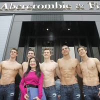 Adiós a los modelos desnudos de Abercrombie