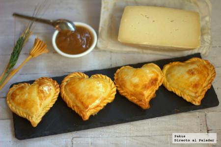 Delicados hojaldres corazón fundido para San Valentín: receta fácil y rápida