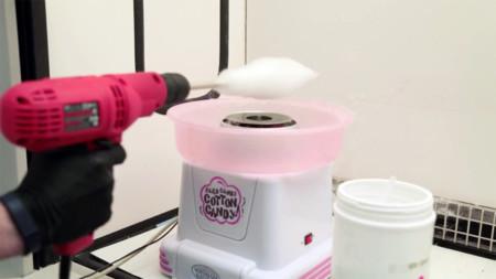 Una máquina de algodón de azúcar puede ser una útil herramienta para crear vasos sanguíneos artificiales