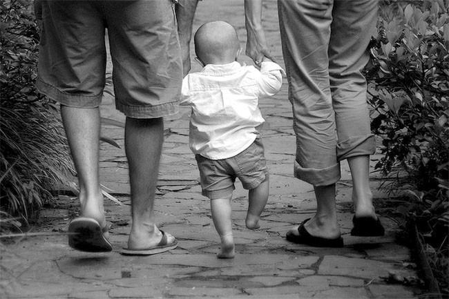 Bebé y sus primeros pasos