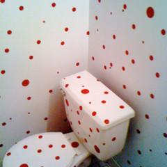 Foto 1 de 3 de la galería un-bano-a-lunares en Decoesfera