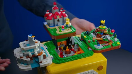Nintendo y LEGO se volverán a unir para lanzar un bloque de interrogación que incluirá los escenarios más icónicos de Super Mario 64