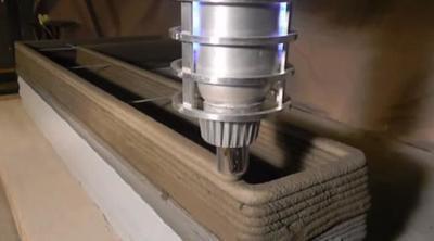 ¿Una impresora 3D de hormigón en tu casa? Ya es posible