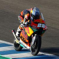 Raúl Fernández es el más rápido de los FP2 de Moto3 y Albert Arenas aparece muy recuperado en Brno