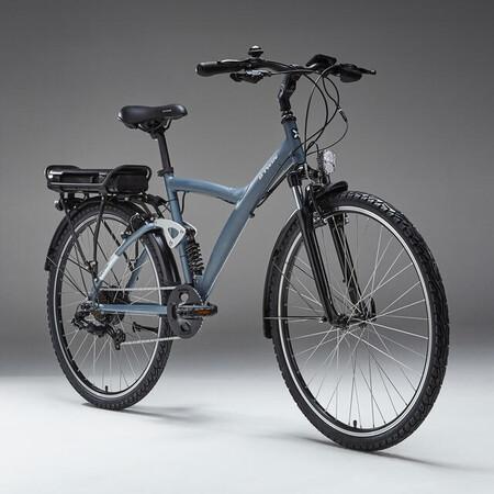 Bicicleta Electrica Trekking Doble Suspension Riverside Ebike Original 920 Azul