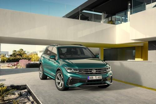 El Volkswagen Tiguan 2021 se renueva con rostro de Golf y variante híbrida enchufable
