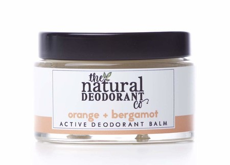 Desodorante Natural De Naranja Y Bergamota De Natural Deodorant Co