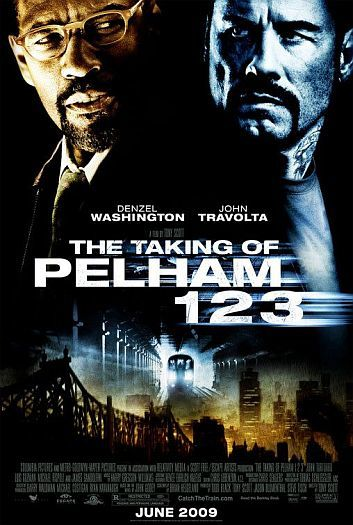 'The Taking of Pelham 123', póster