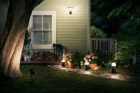 Philips presenta una nueva gama de sistemas de iluminación LED Hue para exteriores