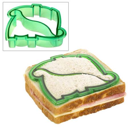 Molde para hacer dino-sandwiches