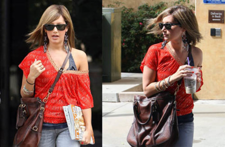 Ashley Tisdale renueva su look