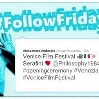 #FollowFriday de Poprosa: Festival de Venecia, estampas felices y fotos sorpresa