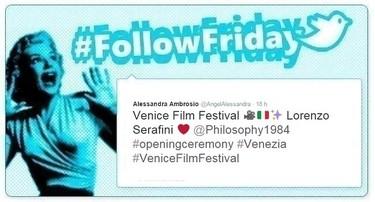#FollowFriday de Poprosa: Festival de Venecia, estampas felices y fotos sorpresa
