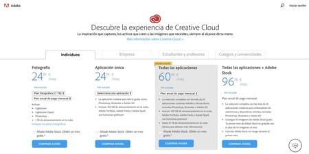 Precios Adobe