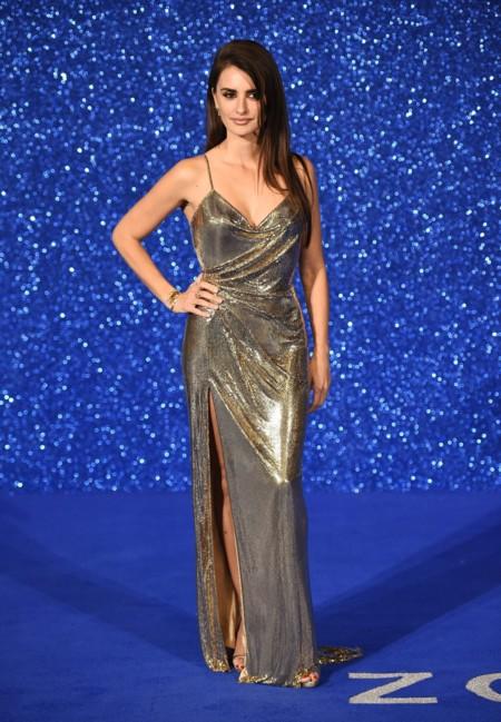 Penelope Cruz Zoolander 2 Londres Versace 2