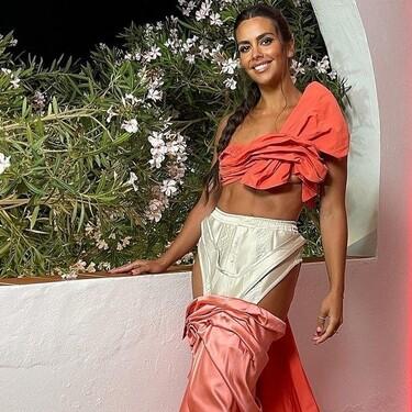 Cristina Pedroche se atreve con el maquillaje de perlas en Love Island, pero su look deconstruido roba todo el protagonismo