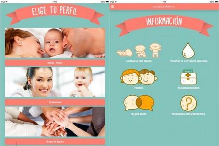 Aplicación sobre lactancia materna de la AEP