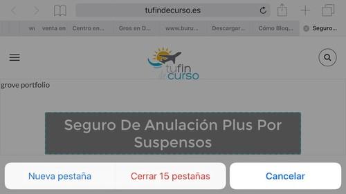 Cómo recuperar una pestaña cerrada en Safari para iOS (y cómo cerrar todas de golpe)