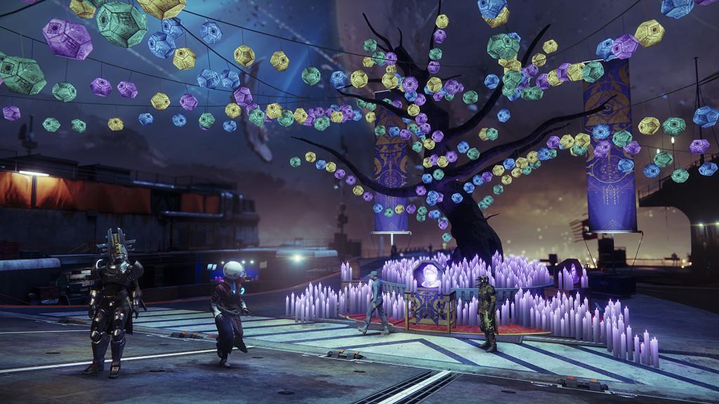 Destiny 2: máscaras, nueva actividad Bosque Encantado y más en la Fiesta de las Almas Perdidas de este año