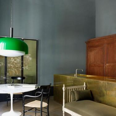 Un apartamento con alma en Milán diseñado por el estudio Dimore