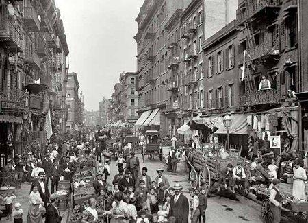 Nueva York en el año 1900
