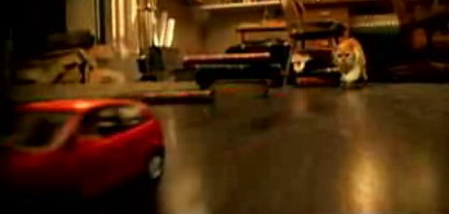 Anuncio del Volkswagen Polo: escapando del gato malvado