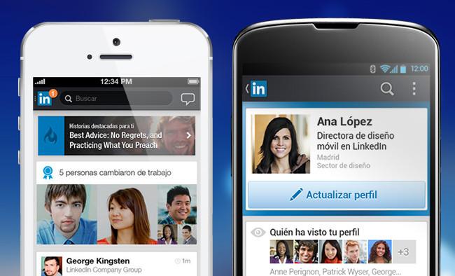 LinkedIn para Android e iOS