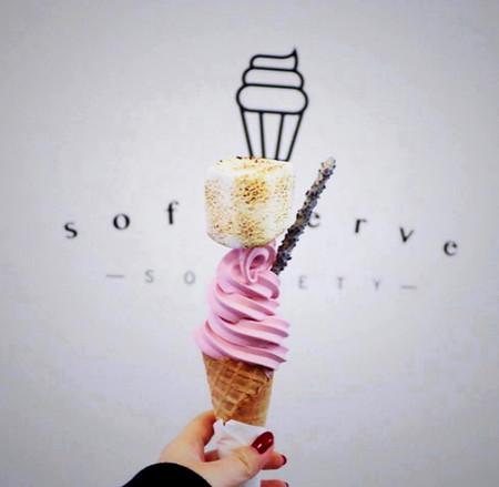 Esta heladería de Londres hace unos helados tan espectaculares que hay peligro de que se derritan mientras los contemplas
