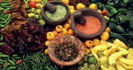 Chiles mexicanos, frutos picosos inseparables en la dieta de casi todo mexicano.