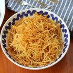 Cómo hacer las mejores patatas paja caseras, receta de guarnición