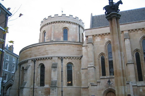 Temple Church: la extraña capilla circular que hay en Londres que es el primer banco