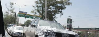 ¡Espiada! La renovada Nissan NP300 2021 ya se pasea en México