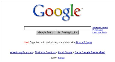 ¿Cómo diseña Google sus páginas?