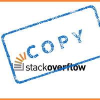 Estos han sido los fragmentos de código más 'copypasteados' en Stack Overflow durante las últimas semanas