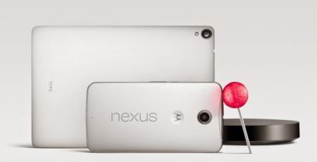 Google anuncia oficialmente el Nexus 6, Nexus 9, Nexus Player y Android 5.0 (Lollipop)