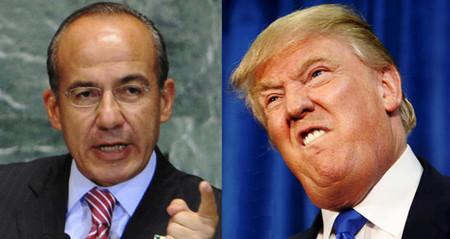 621982 Felipe Calderon Y Donald Trump