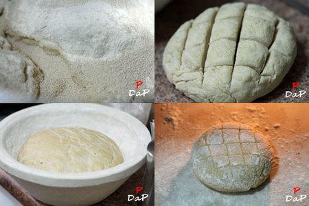 Hacer pan de candeal con harina recia