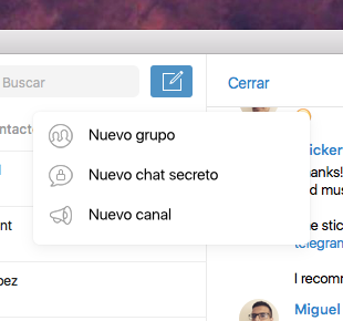 Crear Canal Telegram