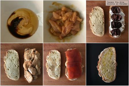 Paso A Paso Sandwich De Pollo A La Mostaza