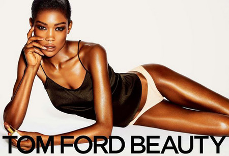 La Color Collection de Tom Ford Beauty para la primavera 2014 protagonizada por Betty Adewole