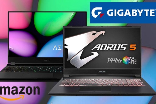Estos 7 portátiles gaming de Gigabyte tienen potencia de sobra y llevan descuentos de entre 200 y 300 euros esta semana en Amazon