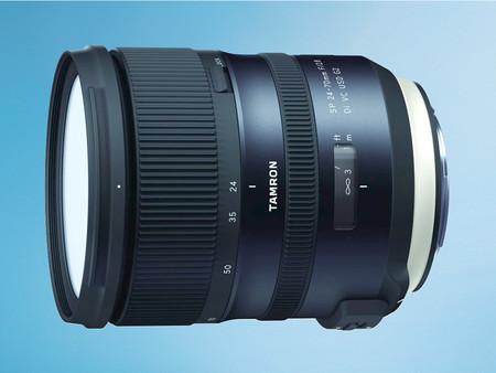 Tamron SP 24-70 mm f/2,8 Di VC USD G2, renovada versión de la óptica zoom estándar para cámaras full frame