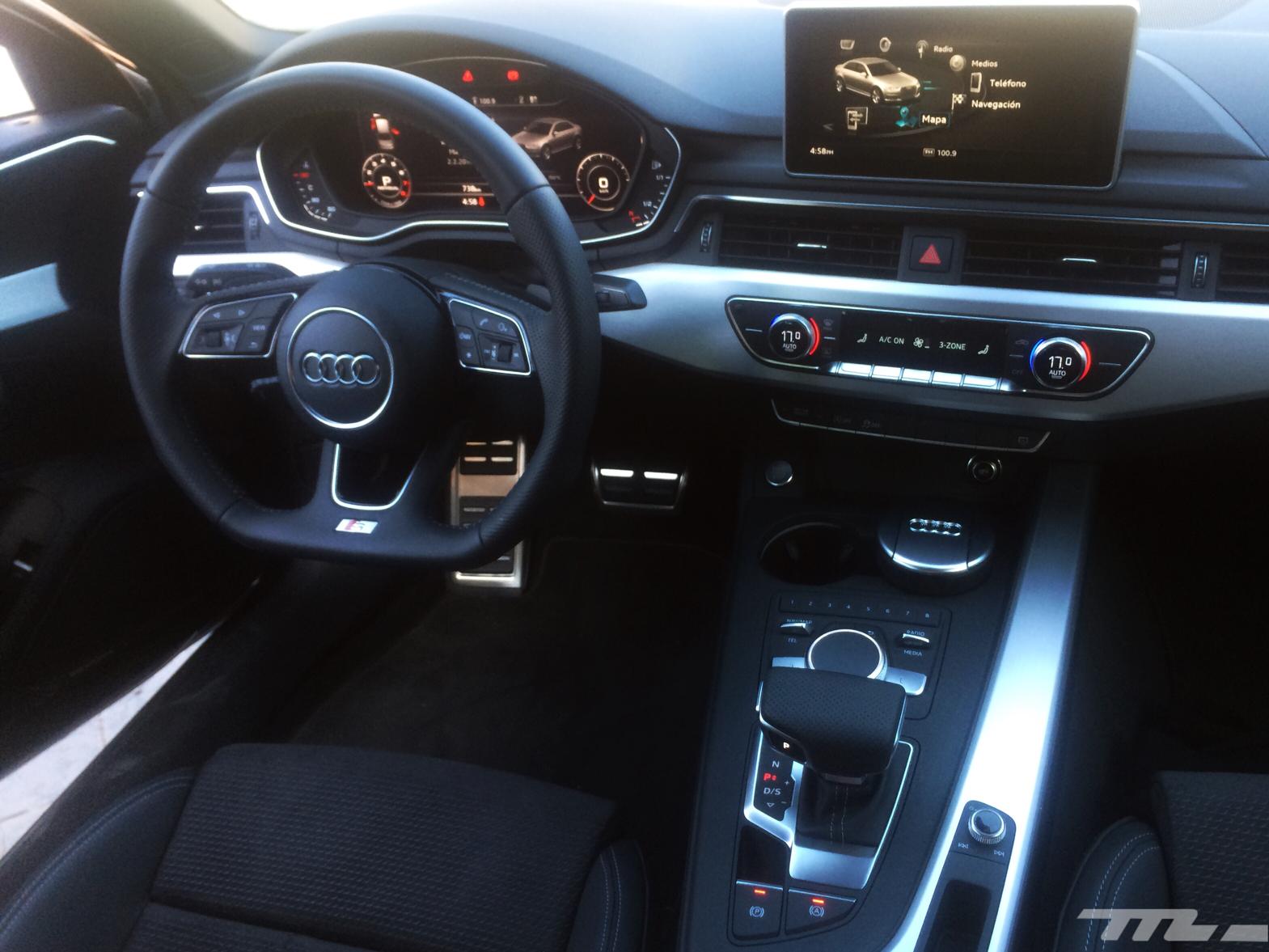 Audi A4 2017 9 12